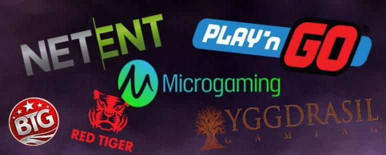 liste des éditeurs de logiciel de casino en ligne